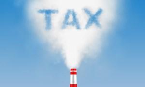 Trình Chính phủ đề nghị xây dựng Luật Thuế bảo vệ môi trường sửa đổi