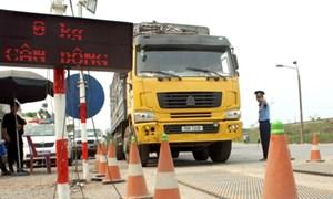 Xử phạt hơn 4.000 xe vi phạm về tải trọng