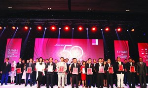 Công bố bảng xếp hạng 50 công ty kinh doanh tốt nhất Việt Nam