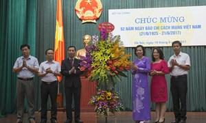 Bộ Tài chính tổ chức Lễ Kỷ niệm 92 năm ngày Báo chí cách mạng Việt Nam (21/6/1925 - 21/6/2017)