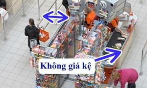 """Nhận diện 10 """"bẫy"""" của siêu thị khiến bạn tốn nhiều tiền"""