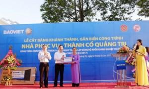 Tập đoàn Bảo Việt với truyền thống uống nước nhớ nguồn