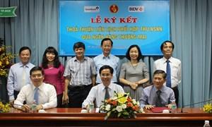 BIDV và Kho bạc Nhà nước ký kết Thỏa thuận liên tịch phối hợp thu ngân sách Nhà nước