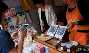 Vì sao cư dân đô thị Trung Quốc ngày càng nói không với tiền mặt?