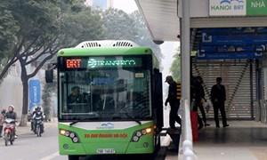 Sẽ thí điểm thẻ vé điện tử trên tuyến buýt nhanh