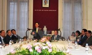 Phó Thủ tướng Vương Đình Huệ thăm và làm việc tại Vương quốc Bỉ