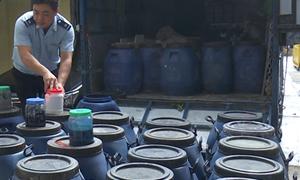 Bắt giữ hơn 1,5 tấn nghi sơn nước Trung Quốc nhập lậu