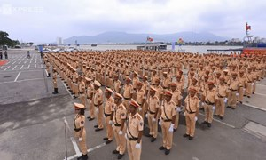 [Video] Cảnh sát Giao thông xuất quân bảo vệ APEC tại Đà Nẵng