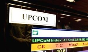 [Infographic] Thị trường UPCoM tháng 10/2017