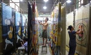 Làng nghề mành trúc xuất khẩu tồn tại hơn nửa thế kỷ ở Sài Gòn