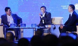 [Video] Phiên đối thoại giữa Jack Ma, Eric Jing và ông Trương Gia Bình