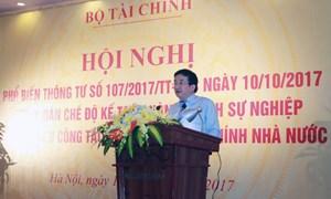 Hội nghị phổ biến cơ chế, chính sách tài chính mới