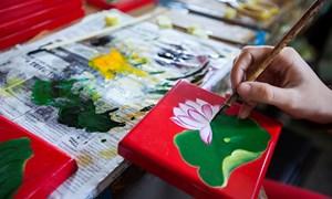 Làng nghề sơn mài: Một di sản văn hóa đáng trân trọng của dân tộc