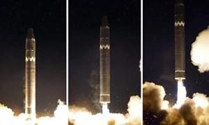 [Infographic] Tầm bắn của tên lửa Hwasong-15 Triều Tiên ra sao?