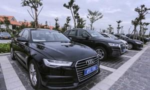 Xe Audi phục vụ APEC chưa được bán
