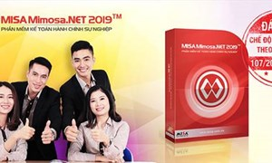 MISA Mimosa.NET 2019 - Phần mềm kế toán đầu tiên đáp ứng Thông tư 107/2017/TT-BTC
