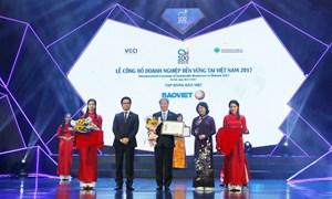 Bảo Việt tiếp tục trong TOP 10 Doanh nghiệp Bền vững xuất sắc nhất Việt Nam