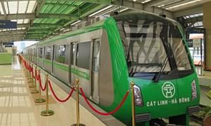 Lùi thời gian chạy thử đường sắt tuyến Cát Linh - Hà Đông tới tháng 9/2018