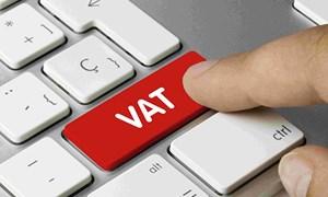 Ban hành quy định mới về thuế giá trị gia tăng