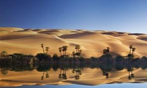 Ngắm cồn cát dài nhất thế giới đẹp như dải ngân hà tuột khỏi mây trời
