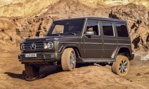 Mercedes-Benz G-Class 2019: thiết kế hiền, nội thất sang nhưng có khả năng off-road đáng nể
