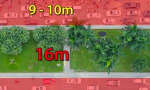 [Video] Hà Nội xén dải phân cách trên đường đẹp nhất Việt Nam