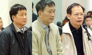 """[Infographic] Hình phạt của 22 bị cáo trong vụ án """"ông Đinh La Thăng"""