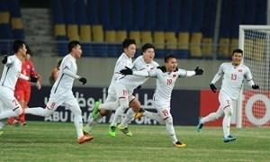 [Video] Chiêm ngưỡng khoảnh khắc Việt Nam đả bại Qatar, ngẩng đầu vào chung kết