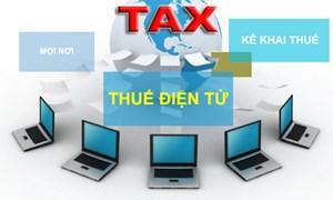 Mở rộng triển khai nộp thuế điện tử đối với cá nhân cho thuê tài sản