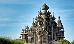 [Video] Bí ẩn nhà thờ gỗ không dùng đinh 300 tuổi ở Nga