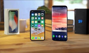 [Infographic] Galaxy S9 đọ cấu hình Galaxy S8, iPhone X