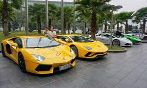 Đầy ngạc nhiên với dàn siêu xe của đại gia Việt