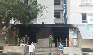 Hiện trường vụ cháy 13 người chết ở chung cư Carina Plaza