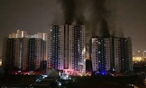 [Video] Hoảng loạn cháy chung cư cao cấp 20 tầng ở Sài Gòn