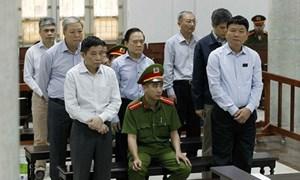 [Infographic] Mức án của ông Đinh La Thăng và các bị cáo