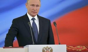 [Video] Quyền lực của Putin tỏa sáng từ lễ nhậm chức