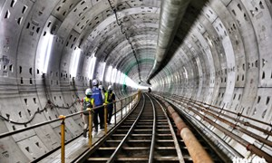 [Video] Hầm metro thứ 2 ở Sài Gòn sắp hoàn thành