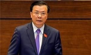 [Video] Bộ trưởng Bộ Tài chính Đinh Tiến Dũng: Không tăng mức thuế giá trị gia tăng lên 12% như dự thảo
