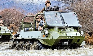 Bí mật về xe quân sự địa hình ATV của Trung Quốc