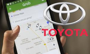 """Toyota sẽ """"rót"""" 1 tỷ USD vào Grab"""