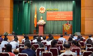 Bộ Tài chính tổ chức Lễ kỷ niệm 93 năm ngày Báo chí cách mạng Việt Nam