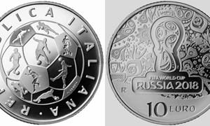 Bộ sưu tập tiền kỷ niệm World Cup 2018 các nước