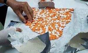 [Video] 12 kg thuốc lắc trong gói quà từ châu Âu về Sài Gòn