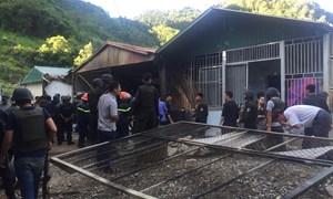 [Video] Cuộc tấn công của 300 cảnh sát vào nơi ở của trùm ma tuý