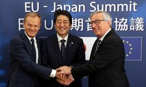 [Infographic] FTA EU-Nhật Bản: Thông điệp rõ ràng chống chủ nghĩa bảo hộ