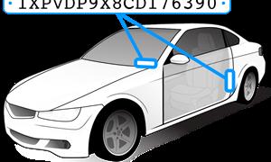 """Giải mã số VIN - bí ẩn """"giấy khai sinh"""" của ôtô"""