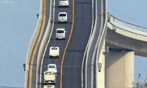 Cây cầu ở Nhật khiến nhiều người toát mồ hôi khi nhìn