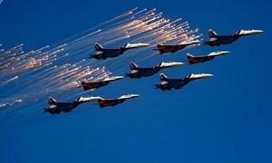 Hoành tráng hình ảnh không quân Nga ngày nay