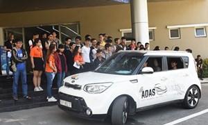 [Video] Chiêm ngưỡng ô tô lái tự động của kỹ sư Việt Nam