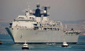 [Video] Tàu chiến Anh cập cảng TP. Hồ Chí Minh